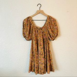 Wild Fable Floral Mini Babydoll Dress